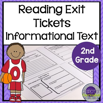Standards Based Reading Exit Tickets: 2nd Grade Informational Text
