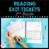 2nd Grade Reading Exit Tickets with Google Forms for Distance Learning