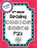 2nd Grade Reading Fiction Choice Boards