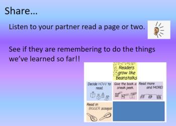 2nd Grade Reading Growth Spurt - Unit 1 PowerPoint Slides