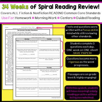 2nd Grade Reading Homework   2nd Grade Reading Comprehension Passages