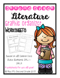 2nd Grade Reading Literature Graphic Organizers for CCSS