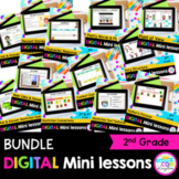 2nd Grade Reading Mini Lessons Bundle - Google Slides & Seesaw Distance Learning