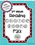 2nd Grade Reading Non-Fiction Choice Boards