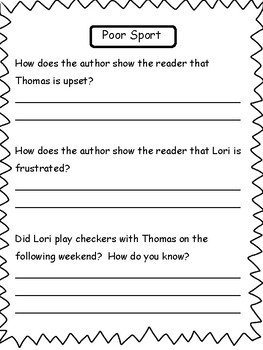 2nd Grade Reading Passages and Comprehension
