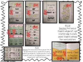 2nd Grade Reading (Phonics and Word Rec) Interactive Journal {CCSS Aligned}