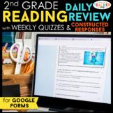 2nd Grade Reading Spiral Review DIGITAL Google Classroom |