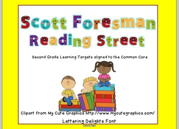 2nd Grade-Reading Street- 2011-Common Core- Unit 3 Target Skills