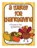 A Turkey for Thanksgiving Resource Pack
