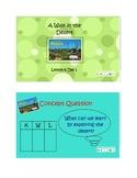 2nd Grade Reading Street Common Core Reading Slides (A Walk In the Desert)