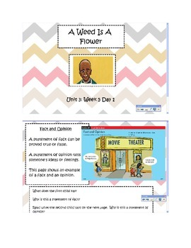 2nd Grade Reading Street Common Core Reading Slides (A Wee