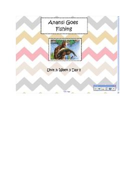 2nd Grade Reading Street Common Core Reading Slides (Anansi)