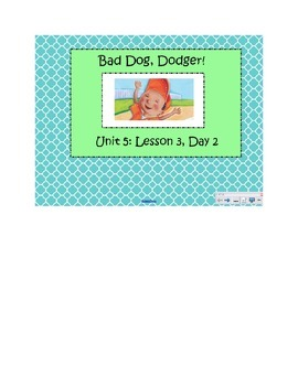 2nd Grade Reading Street Common Core Reading Slides (Bad Dog Dodger)