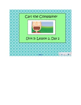 2nd Grade Reading Street Common Core Reading Slides (Carl