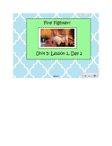2nd Grade Reading Street Common Core Reading Slides (Fire Fighter)