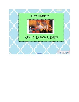 2nd Grade Reading Street Common Core Reading Slides (Fire