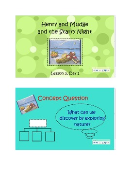 2nd Grade Reading Street Common Core Reading Slides (Henry and Mudge)