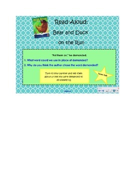 2nd Grade Reading Street Common Core Reading Slides (Horace and Morris)