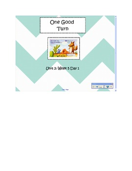 2nd Grade Reading Street Common Core Reading Slides (One G