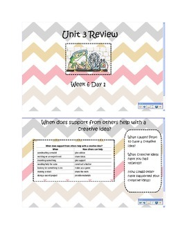 2nd Grade Reading Street Common Core Slides Unit 3 Review Week