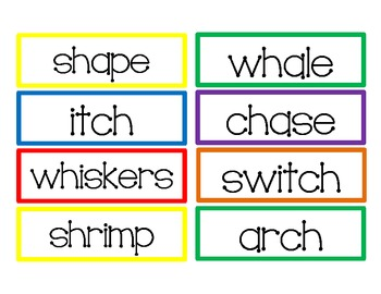 2nd Grade Reading Street Differentiated Spelling Unit 1.5 Flash Cards
