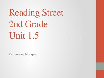 2nd Grade Reading Street Differentiated Spelling Unit 1.5 Power Point