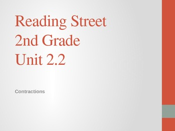 2nd Grade Reading Street Differentiated Spelling Unit 2.2 Power Point