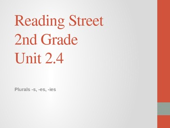 2nd Grade Reading Street Differentiated Spelling Unit 2.4 Power Point