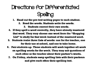 2nd Grade Reading Street Differentiated Spelling Unit 2.5 Flash Cards