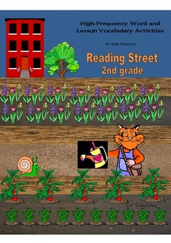 2nd Grade Reading Street High Frequency/Vocabulary Word Activities
