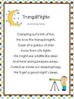 2nd Grade Reading Street Song Posters