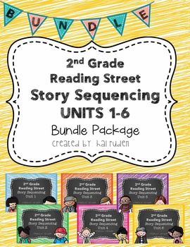 2nd Grade Reading Street Story Sequencing Bundle Package