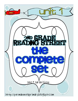 2nd Grade Unit 1 Complete Pack