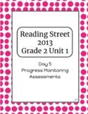 2nd Grade Reading Street Unit 1 Progress Monitor Phonics and HFW