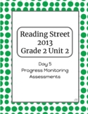 2nd Grade Reading Street Unit 2 Progress Monitor Phonics and HFW