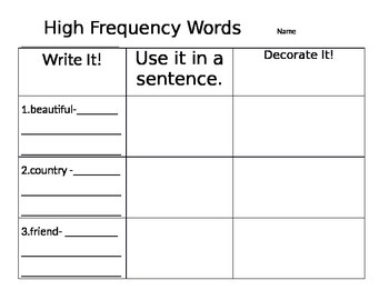2nd Grade Reading Street Unit 1 Week 1: Dictionary Practice
