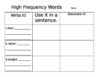 2nd Grade Reading Street Unit 1 Week 3: Dictionary Practice
