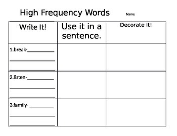2nd Grade Reading Street Unit 2 Week 1: Dictionary Practice