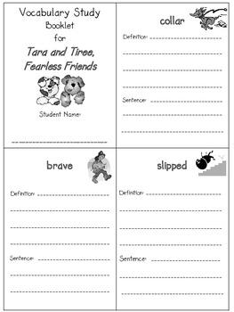 2nd Grade Reading Street - Unit 2 vocab. booklets (freebie)