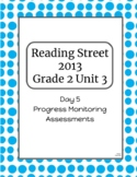 2nd Grade Reading Street Unit 3 Progress Monitor Phonics and HFW