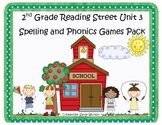 Reading Street 2nd Grade Unit 3 Spelling and Phonics Game Pack (RF.2.3, L.CCR.2)