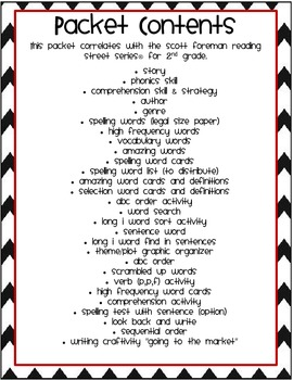 2nd Grade Reading Street Unit 3.4 Rosa and Blanca Activities Packet