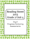 2nd Grade Reading Street Unit 4 Progress Monitor Phonics and HFW