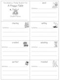 2nd Grade Reading Street: Unit 4 vocab booklets (freebie)