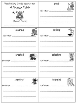 2nd Grade Reading Street: Unit 4 vocab booklets (freebie)