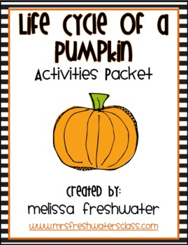 2nd Grade Reading Street Unit 4.2 Life Cycle of a Pumpkin Activities Packet