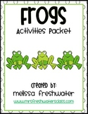 2nd Grade Reading Street Unit 4.3 FROGS Supplemental Activities Packet