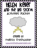 2nd Grade Reading Street Unit 4.5 Helen Keller & the Big Storm Activity Pack