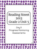 2nd Grade Reading Street Unit 5 Progress Monitor Phonics and HFW
