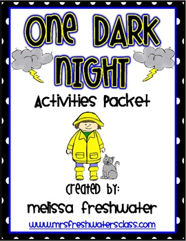2nd Grade Reading Street Unit 5.2 One Dark Night Supplemental Activity Pack